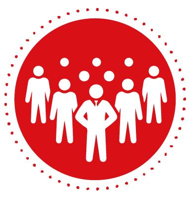 circulo rojo administracion de personal - Administración de Personal